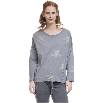 Clothing Women Tops / Blouses Tantra Long sleeve top LILAS Grey Woman Autumn/Winter Collection Grey