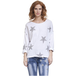 Clothing Women Tops / Blouses Tantra Long sleeve top LILAS White Woman Autumn/Winter Collection White
