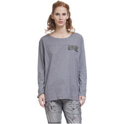 Clothing Women Tops / Blouses Tantra Long sleeve top ULIS Grey F Grey