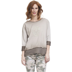 Clothing Women Tops / Blouses Tantra Long sleeve top ACHERES Beige Woman Autumn/Winter Collection Beige