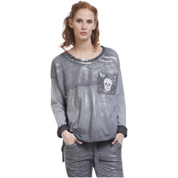 Clothing Women Tops / Blouses Tantra Long sleeve top NAMUR Grey Woman Autumn/Winter Collection Grey