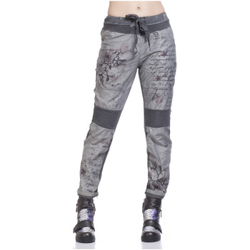 Clothing Women Trousers Tantra Trousers VILLIERS Grey Woman Autumn/Winter Collection Grey