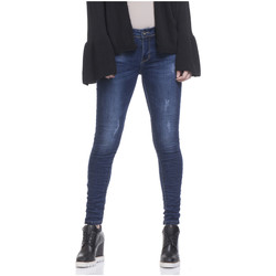 Clothing Women Skinny jeans Tantra Jean ROSY Blue Woman Autumn/Winter Collection Blue
