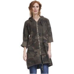 Clothing Women Jackets Tantra Jacket BELLA Khaki Woman Autumn/Winter Collection Khaki