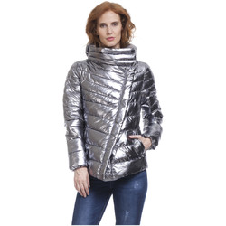 Clothing Women Duffel coats Tantra Down jackets CANNES Silver F Silver