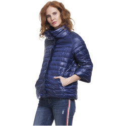 Clothing Women Duffel coats Tantra Down jackets ROMA Blue Woman Autumn/Winter Collection Blue
