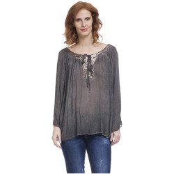 Clothing Women Tops / Blouses Tantra Blouse JULY Grey Woman Autumn/Winter Collection Grey