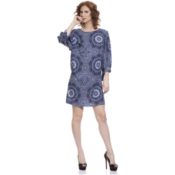 Clothing Women Short Dresses Tantra Dress PRICY Blue Woman Autumn/Winter Collection Blue