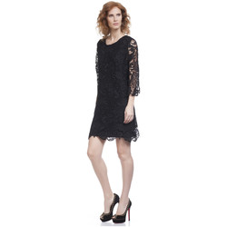 Clothing Women Short Dresses Tantra Dress YESSICA Black Woman Autumn/Winter Collection Black