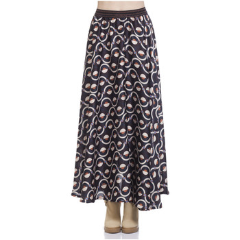 Clothing Women Skirts Tantra Skirt ROMINA Black Woman Autumn/Winter Collection Black