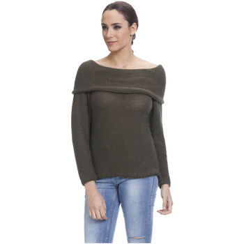Clothing Women jumpers Tantra Pullover JEANNE Khaki Woman Autumn/Winter Collection Khaki