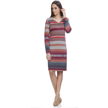 Clothing Women Short Dresses Tantra Dress MARIE Red Woman Autumn/Winter Collection Red