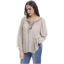 Clothing Women Tops / Blouses Tantra Blouse LOUISE Beige Woman Autumn/Winter Collection Beige