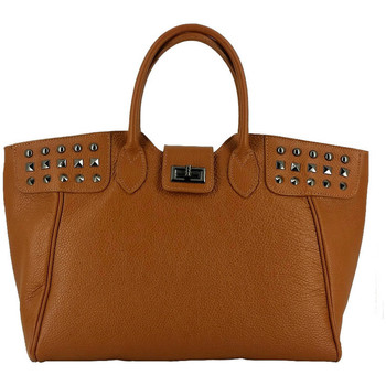 Bags Women Bag Laura Moretti Handbag KELLY Black Woman Autumn/Winter Collection Camel