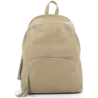 Bags Women Rucksacks Laura Moretti Backpack SIRINE Taupe Woman Autumn/Winter Collection Taupe