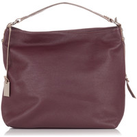 Bags Women Bag Laura Moretti Handbag JULIA Burgundy F Burgundy