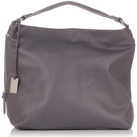 Bags Women Bag Laura Moretti Handbag JULIA Grey Woman Autumn/Winter Collection Grey