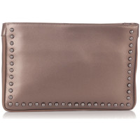 Bags Women Evening clutches Laura Moretti Clutch bag INES Bronze F Bronze