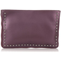 Bags Women Evening clutches Laura Moretti Clutch bag INES Burgundy Woman Autumn/Winter Collection Burgundy