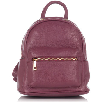 Bags Women Rucksacks Laura Moretti Backpack ROMANE Burgundy F Burgundy