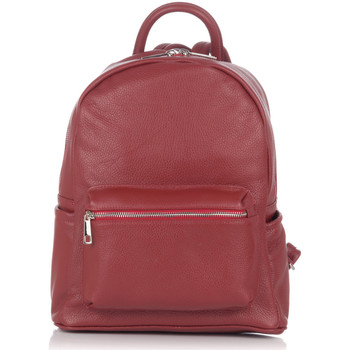 Bags Women Rucksacks Laura Moretti Backpack IRIS Burgundy F Burgundy