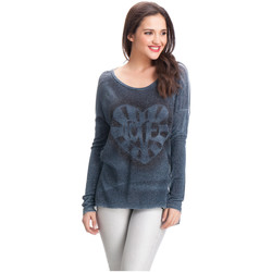 Clothing Women jumpers Laura Moretti Pullover JENYFER Blue F Blue