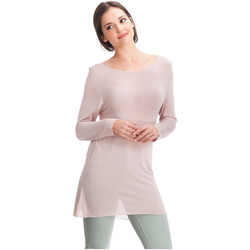 Clothing Women Tops / Blouses Laura Moretti Pullover DENY Pink Woman Autumn/Winter Collection Pink