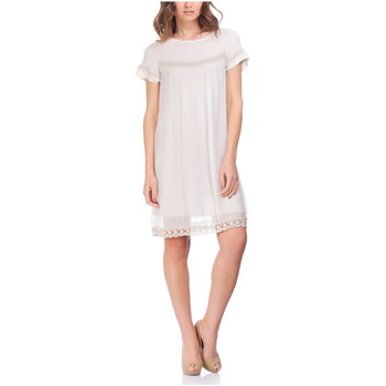 Clothing Women Short Dresses Laura Moretti Dress NURAH Beige F Beige