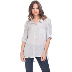 Clothing Women Shirts Laura Moretti Shirt ZELY Grey Woman Autumn/Winter Collection Grey