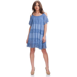 Clothing Women Short Dresses Laura Moretti Dress DENA Blue F Blue