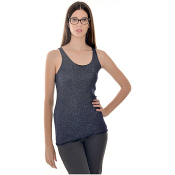 Clothing Women Tops / Sleeveless T-shirts Laura Moretti Top RUBY Black Woman Autumn/Winter Collection Black
