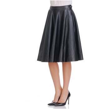 Clothing Women Skirts Laura Moretti Skirt SHIRLEY Black F Black