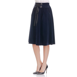 Clothing Women Skirts Laura Moretti Skirt SALBA Navy blue F Navy blue
