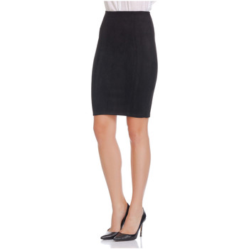 Clothing Women Skirts Laura Moretti Skirt MARGO Black F Black
