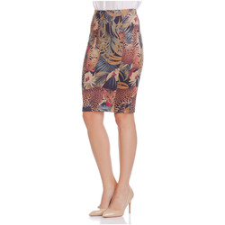 Clothing Women Skirts Laura Moretti Skirt AMELY Leopard Woman Autumn/Winter Collection Leopard