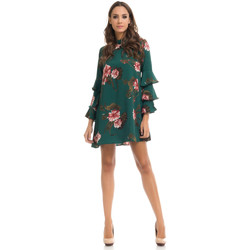 Clothing Women Short Dresses Tantra Dress MANON Green / Red F Green