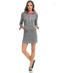 Clothing Women Dresses Tantra Dress STACY Grey / Red F Grey