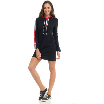 Clothing Women Dresses Tantra Dress STACY Black / Red F Black