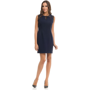 Clothing Women Dresses Tantra Dress GAELLE Navy blue Woman Autumn/Winter Collection Navy blue