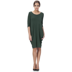 Clothing Women Dresses Tantra Dress ANDREA Green Woman Autumn/Winter Collection Green