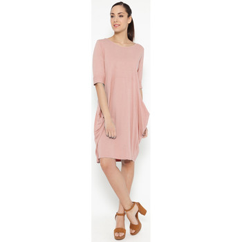 Clothing Women Dresses Tantra Dress ANDREA Pink Woman Autumn/Winter Collection Pink