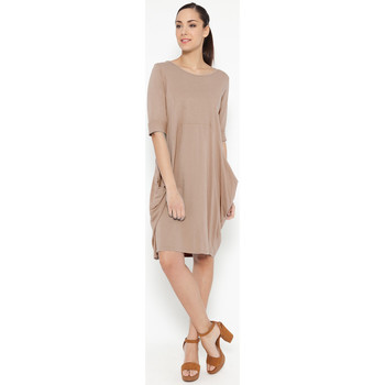 Clothing Women Dresses Tantra Dress ANDREA Camel Woman Autumn/Winter Collection Camel