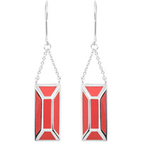Watches Women Earrings Skalli Earrings NOLWEN Silver / Red F Silver