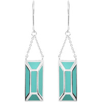 Watches Women Earrings Skalli Earrings JESSICA Silver / Light green F Silver
