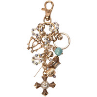 Clothes accessories Women Keyrings Miss June Key-ring ALPHEE Gold F Gold