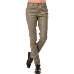 Clothing Women 5-pocket trousers Mado Et Les Autres Trousers RYAN Taupe Woman Autumn/Winter Collection Taupe