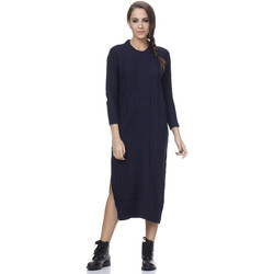 Clothing Women Dresses Tantra Dress EVA Navy blue Woman Autumn/Winter Collection Navy blue