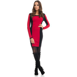 Clothing Women Dresses Tantra Dress OLIVIA Red / Black F Red