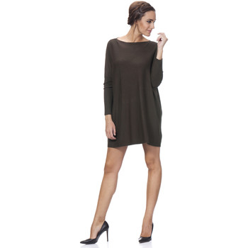Clothing Women Dresses Tantra Dress MONA Choco brown F Choco brown