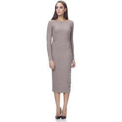 Clothing Women Dresses Tantra Dress CAMELIA Taupe Woman Autumn/Winter Collection Taupe